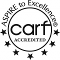 Aspire to Excellence: CARF Accredited